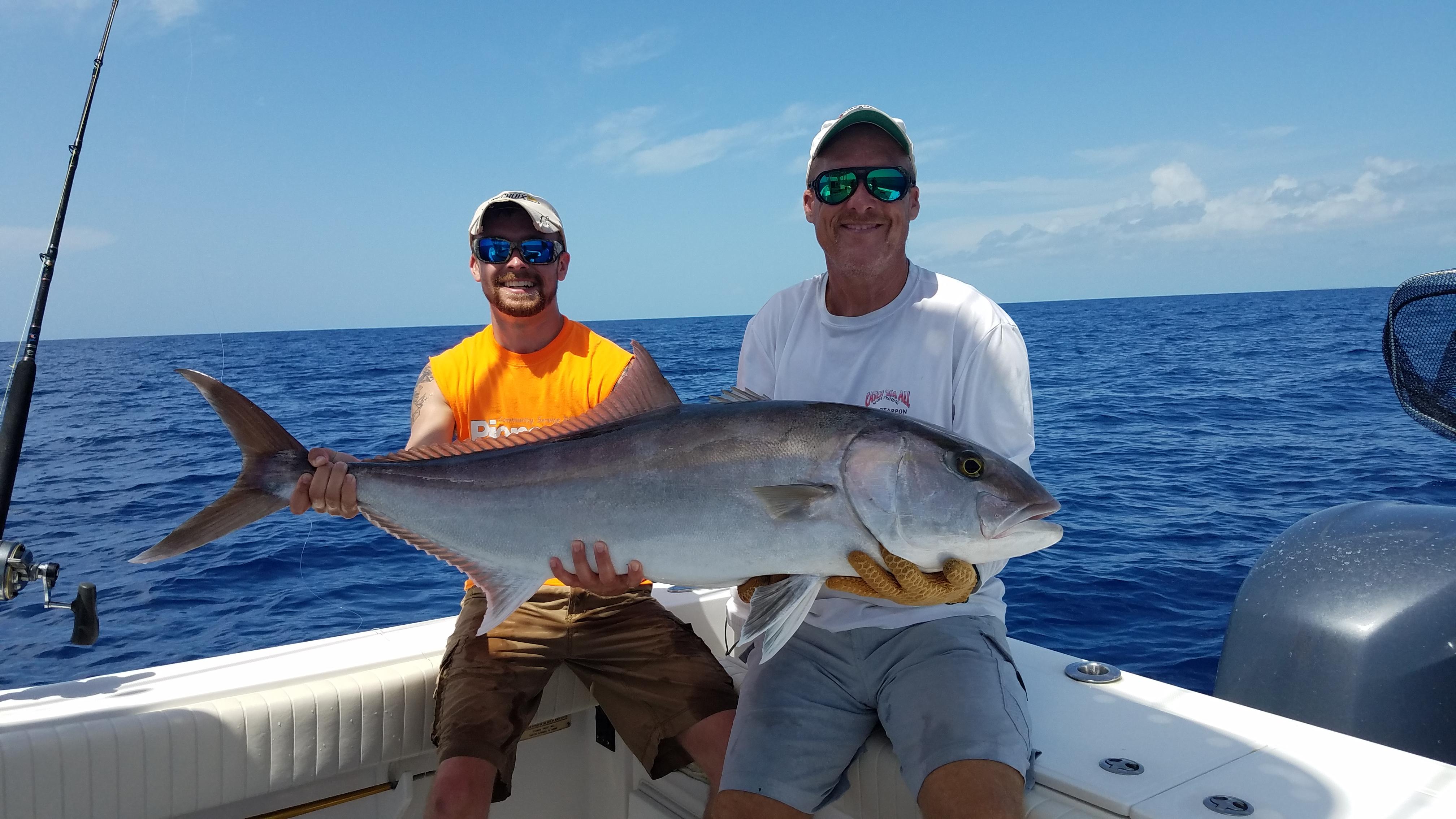 Amberjack action catch 39 em all florida keys fishing charters for Florida keys fishing