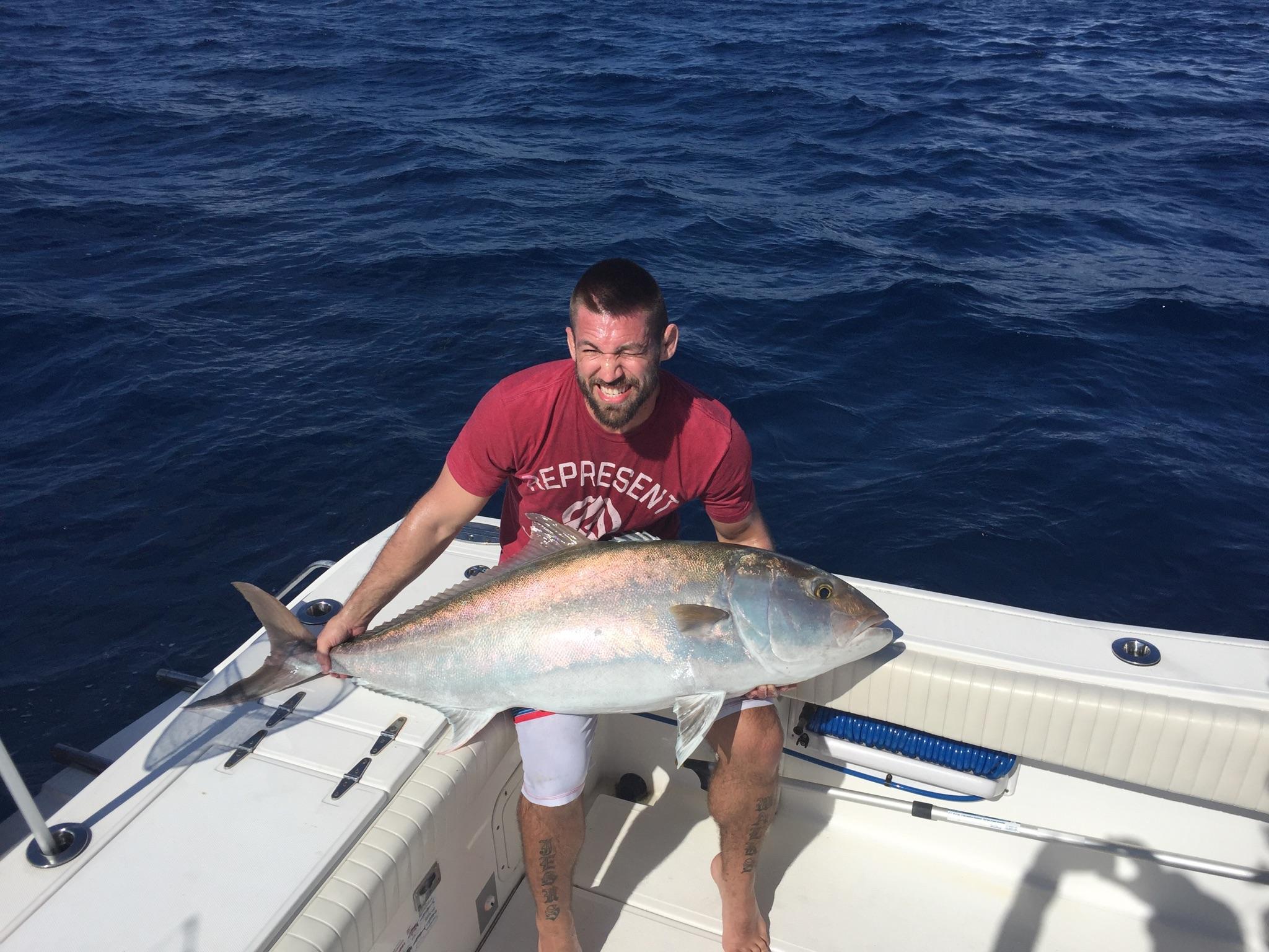 Beautiful amberjack catch 39 em all florida keys fishing for Florida keys fishing calendar