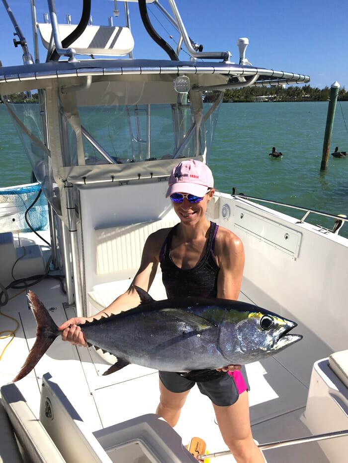 Blackfin Tuna - Marathon, Florida