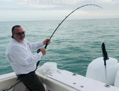 Tarpon fishing with Paul